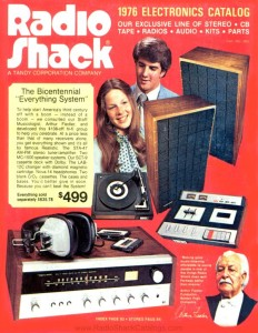 Radio Shack 1976 Catalog Cover
