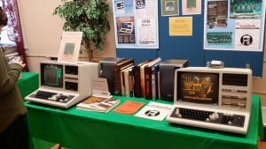 TRS-80 Model IV at VCFEast 10 (image borrowed from VCFEast)