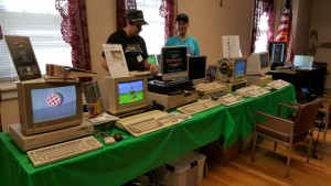 30 Years of Amiga exhibit at VCFEast 10