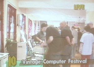 Video Toaster output at VCFEast 10