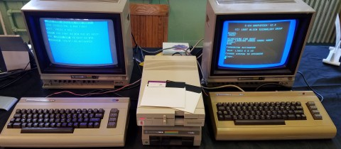 Cross Assembling on a Commodore 64