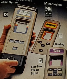 Milton Bradley Microvision