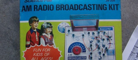Throwback Thursday – AM Radio Broadcasting Kit – 1977