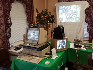 Video Toaster setup at VCFEast 10.0