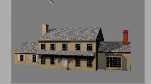 Rendered House Image