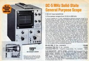 Heathkit IO-102 Oscilloscope
