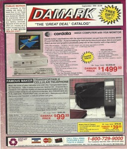 Damark catalog cover