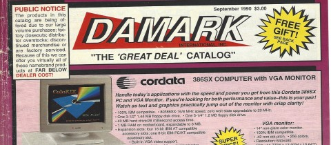 "Damark – The ""Great Deal"" Catalog"
