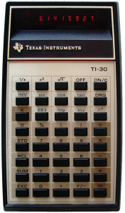 Texas Instruments TI-30 Calculator