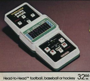 Coleco Head-to-Head Football
