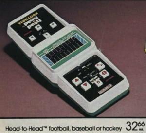Coleco Head-to-Head Football
