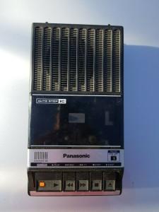 Panasonic Cassette Recorder